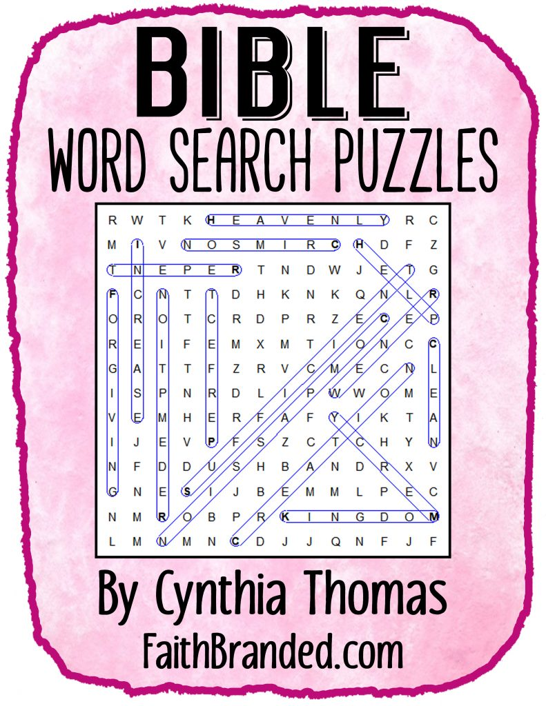 bible word search puzzles faith branded