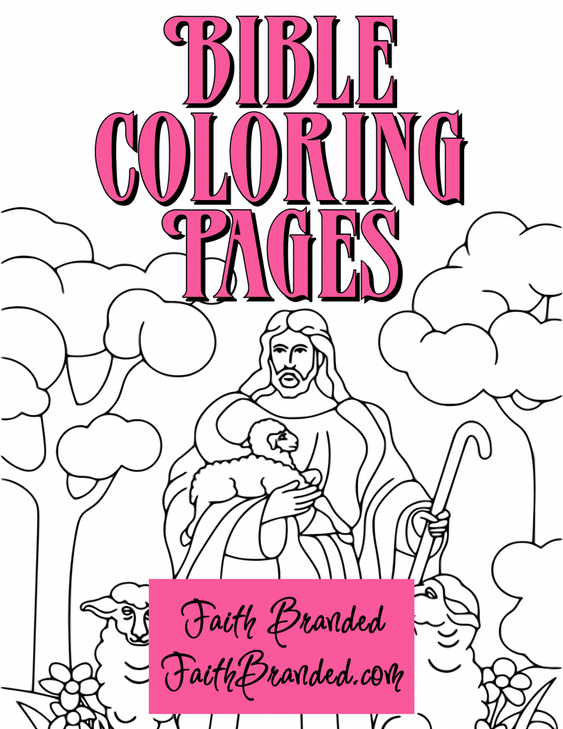 Free Bible Coloring Pages for Kids on Sunday School Zone | 1024x791
